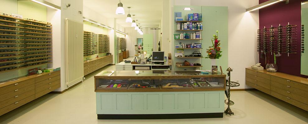 Augenoptiker-Geschäft in Berlin-Kreuzberg: Die Brillenwerkstatt in der Oranienstraße