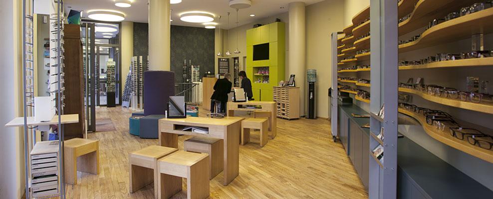 Augenoptiker-Geschäft in Berlin-Mitte: Die Brillenwerkstatt in der Dircksenstraße
