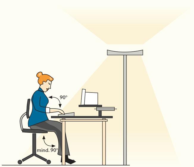 Illustration G37-Bildschirm-Arbeitsplatz