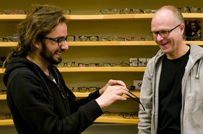 Beratung beim Optiker in Berlin-Mitte
