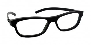 "Designerbrille IC! Berlin ""6 vor 6"" black"